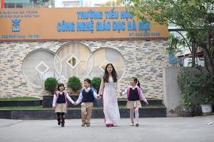 Những điều thú vị ở Trường tiểu học Công nghệ giáo dục Hà Nội