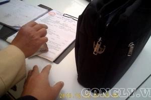 Hà Nội: CSGT huyện Phú Xuyên dừng xe, xử phạt không có biên bản