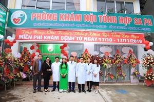 Lào Cai: Khai trương phòng khám Nội tổng hợp Sa Pa