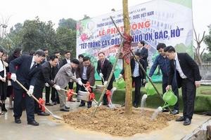 Trường Cao đẳng Công nghệ Y - Dược Việt Nam phát động tết trồng cây xuân Canh Tý 2020