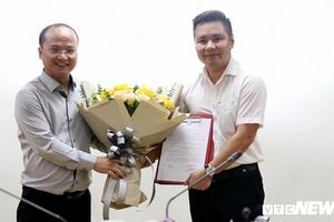 Nhà báo Dương Quang Tùng được bổ nhiệm làm Phó Tổng biên tập Báo điện tử VTC News