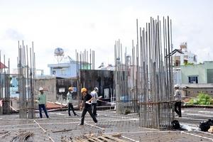 Nhiều công trình tại Gia Lâm, Đông Anh, Mê Linh... bị kiểm tra an toàn lao động