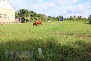 Kiểm tra việc thu hồi đất của dân để làm khu công nghiệp ở Hà Nam