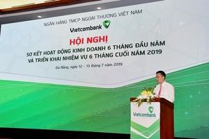 Vietcombank ước lãi trước thuế 11.280 tỉ đồng nửa đầu năm
