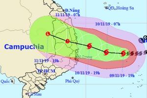 Dự báo thời tiết 10/11, nín thở đợi bão số 6, hơn 24.000 quân ứng trực