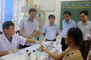 Ngành Y tế Hà Tĩnh chú trọng tầm soát đái tháo đường