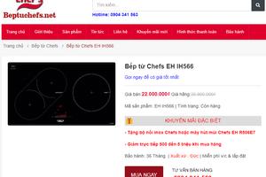 """""""Ma trận"""" thị trường: Bếp từ Chef's, Giovani có phải xuất xứ từ châu Âu?"""