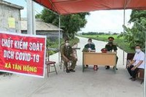 Phong tỏa toàn bộ huyện Cẩm Giàng, Hải Dương vì COVID-19