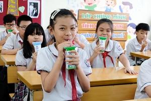 Hà Nội tổng kết chương trình Sữa học đường năm học 2018-2019