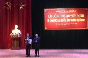 Ông Lê Anh Xuân được bầu làm Bí thư Thành ủy TP Thanh Hóa