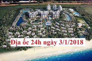 """Địa ốc 24h ngày 3/1: Bộ Xây dựng lên kế hoạch thanh tra một loạt """"ông lớn"""" bất động sản"""