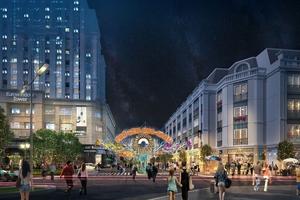 Phố mua sắm giải trí đầu tiên sẽ có mặt tại xứ Thanh