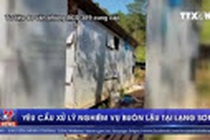 Yêu cầu xử lý nghiêm vụ buôn lậu tại Lạng Sơn