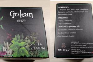 Thực phẩm chức năng: Nghi vấn chứa chất cấm Sibutramine tại Việt Nam?