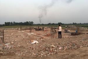 Cửa hàng xăng dầu xã Tam Hưng, huyện Thanh Oai, TP Hà Nội: Chưa được cấp phép, vẫn thi công?