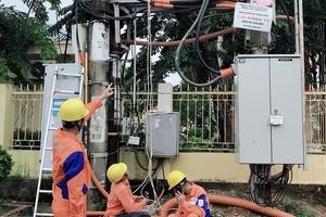 EVNNPC thông tin khắc phục hậu quả cơn bão số 2