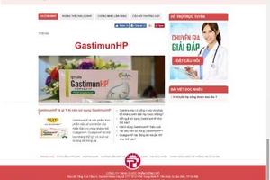Xử phạt Công ty TNHH Dược phẩm Đông Đô vì quảng cáo sai sự thật