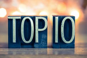 Top 10 cổ phiếu tăng/giảm mạnh nhất tuần: Các mã thị trường hạ nhiệt