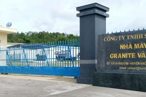 Công ty TNHH Sơn Thạch bị xử phạt vi phạm hành chính về lao động