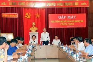 Huyện Nghi Xuân (Hà Tĩnh): Báo chí góp vai trò quan trọng trong phát triển kinh tế - xã hội