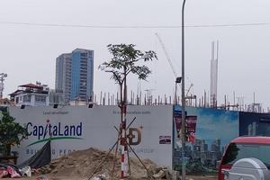 Chưa có giấy phép, chủ đầu tư Dự án CapitaLand - Hiền Đức đã ngang nhiên xây dựng?