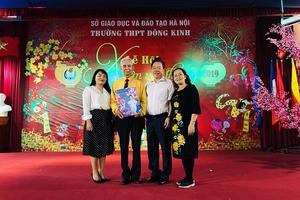 Trường THPT Đông Kinh (Hà Nội): Hân hoan đón chào năm mới