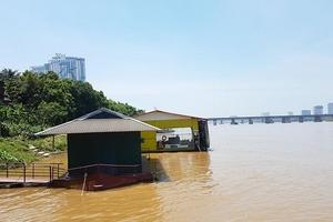 'Biệt phủ', nhà hàng mọc trái phép sông Hồng: Nơi tháo dỡ, chỗ chờ hợp thức hóa?