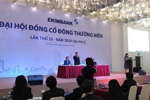Đại hội cổ đông Eximbank: Cổ đông hoài nghi tư cách Đoàn chủ tịch