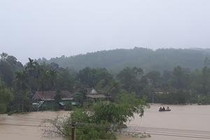 Mưa lũ gây thiệt hại lớn ở Hà Tĩnh