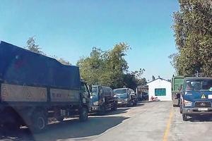 Làm rõ nghi vấn Công ty Môi trường Thuận Thành đổ chất thải nguy hại xuống sông Cầu