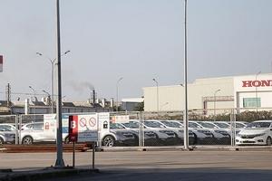 Dân cư quanh nhà máy Honda Việt Nam không ngừng kêu mùi khí thải