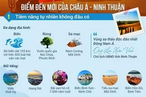 """5 """"lực hấp dẫn"""" của Ninh Thuận"""