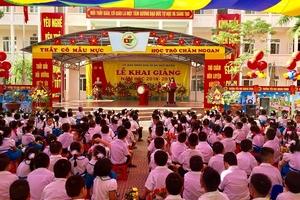 Trường Tiểu học Quang Trung (Ngô Quyền – Hải Phòng): Tưng bừng khí thế năm học mới
