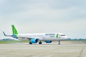 Tân binh Bamboo Airways 'chiếm' bao nhiêu phần trăm thị phần hàng không?