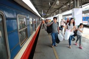 Nhiều mức giảm giá vé tàu nhân dịp Tết Canh Tý