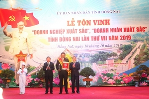 Nestlé Việt Nam được vinh danh Doanh nghiệp xuất sắc của Đồng Nai