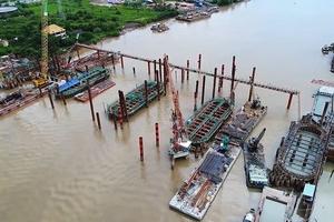 Thuê tư vấn đánh giá lại thép Trung Quốc tại dự án chống ngập 10.000 tỷ đồng