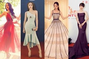 Những chiếc váy giúp Hoa hậu Hương Giang 'nâng tầm đẳng cấp'