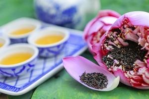 Trà sen Tây Hồ - Tinh hoa ẩm thực Hà Thành