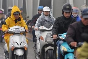 Thời tiết 7/12: Hà Nội có mưa rào và dông, trời trở rét