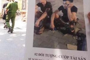 Di lý hai nghi phạm sát hại nam sinh viên lái xe Grab từ Yên Bái về Hà Nội