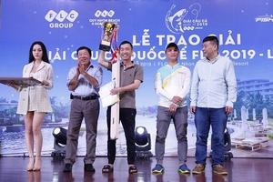 Hàng trăm cần thủ tranh tài kịch tính tại Giải câu cá Quốc tế FLC 2019