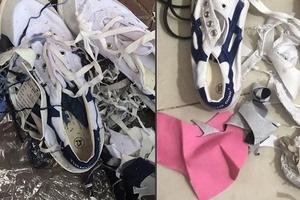 Công ty giày Thượng Đình nhét phế thải vào sản phẩm?