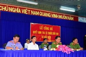 25 phạm nhân tại trại giam Cây Cầy được tha tù trước thời hạn