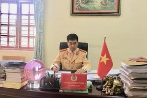 Phòng CSGT - Công an tỉnh Bắc Kạn: Thực hiện hiệu quả công tác cải cách hành chính