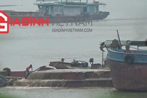 'Cát tặc' vẫn nhởn nhơ, Đội Cảnh sát đường thủy số 1 Hà Nội đang ở đâu?