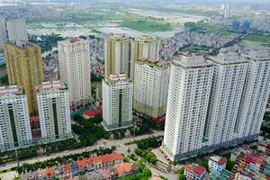 Giá nhà tại Hà Nội tăng nhẹ trong năm 2019