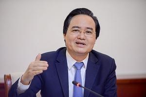 Bộ trưởng Nhạ mong người dân cả nước cùng giám sát kỳ thi quốc gia