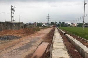 Thái Nguyên: Tuyến đường 1km giá 30 tỷ, thi công gần 2 năm vẫn chưa xong