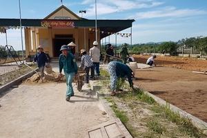 Xã Thạch Tiến, huyện Thạch Hà, tỉnh Hà Tĩnh: Lấy sức dân làm nền tảng để về đích